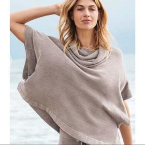 Barefoot dreams cozy chic ultra lite cowl neck top